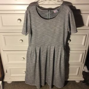 LuLaRoe Grey Dress